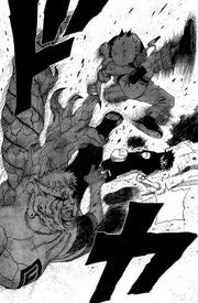 Naruto repele Gaara