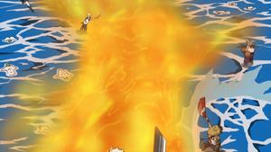 """""""Bashōsen"""" Rollo de Fuego Anime"""