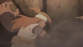 Chōchō punches Kokuyō