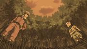 Konohamaru y Naruto se hacen rivales