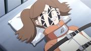 Namida resistindo ao Selo Amaldiçoado