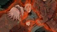 Sakura curando Shikamaru (Anime)