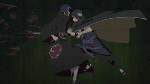 Sasuke asesina a Itachi
