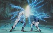 Aoi vs Sasuke