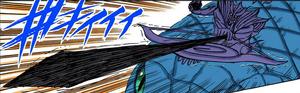 Elemento Llama Susanoo Kagutsuchi Manga