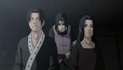 Fugaku et Mikoto avant leur mort