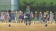 Iruka como árbitro en la Academia