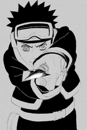 Obito desperta o Sharingan