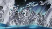 Zetsu sofrem ataque de Darui
