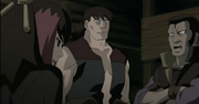 El Equipo Magaki tras capturar a Naruto