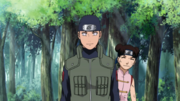 Ko e Tenten encontram Hinata e Kiba