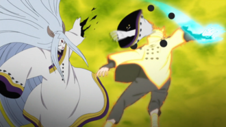 Naruto Attacks Kaguya