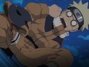 Naruto invoca Gamakichi no País do Mar