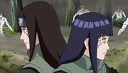 Neji y Hinata pelean juntos