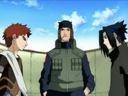 Sasuke e Gaara se enfrenta