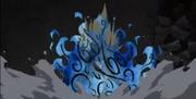 Yugito liberando el poder de Matatabi