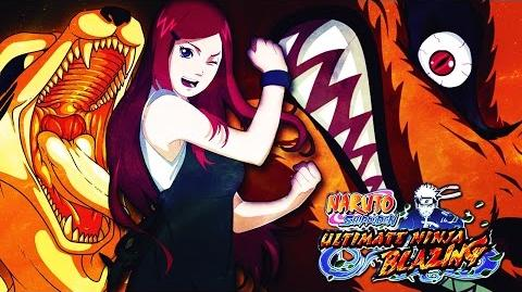 ** KUSHINA KURAMA RAID BOSS (A RANK) NO PERALS ** ** Naruto Shippuden Ultimate Ninja Blazing **