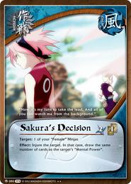 Decisión de Sakura