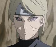 El Sharingan y Rinnegan de Tobi reflejados en los ojos de Yugito