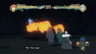 Flame Barrage