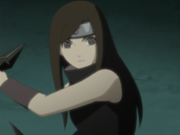 Izumi's wielding Sharingan