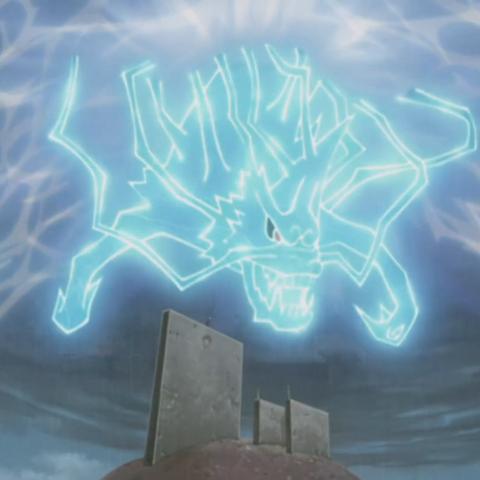 Korisnik oblikuje munje u formu lava...
