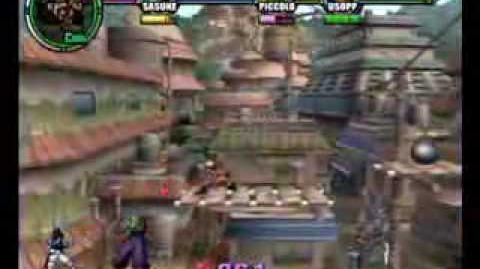 Battle Stadium D.O.N - Naruto vs Sasuke vs Piccolo vs Usopp