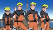 Los clones de Naruto se revelan contra el