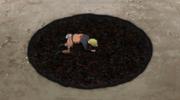 Naruto expulsando las serpientes de Kabuto