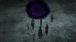 Ninjutsu de Espacio–Tiempo de Sasuke Uchiha Anime