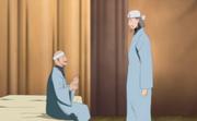 Os dois ninjas conversando