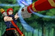 Bando using his Concussive Chakra Cannon.