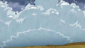 Elemento Agua Formación Muro de Agua Anime