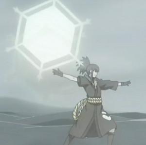 Elemento Cristal Shuriken Hexagonal Gigante