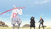 Urashiki encontra Shinki e Boruto