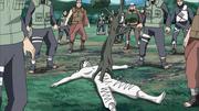 Zetsu se transformando em Árvore