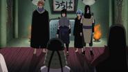 Hiruzen fala com Sasuke