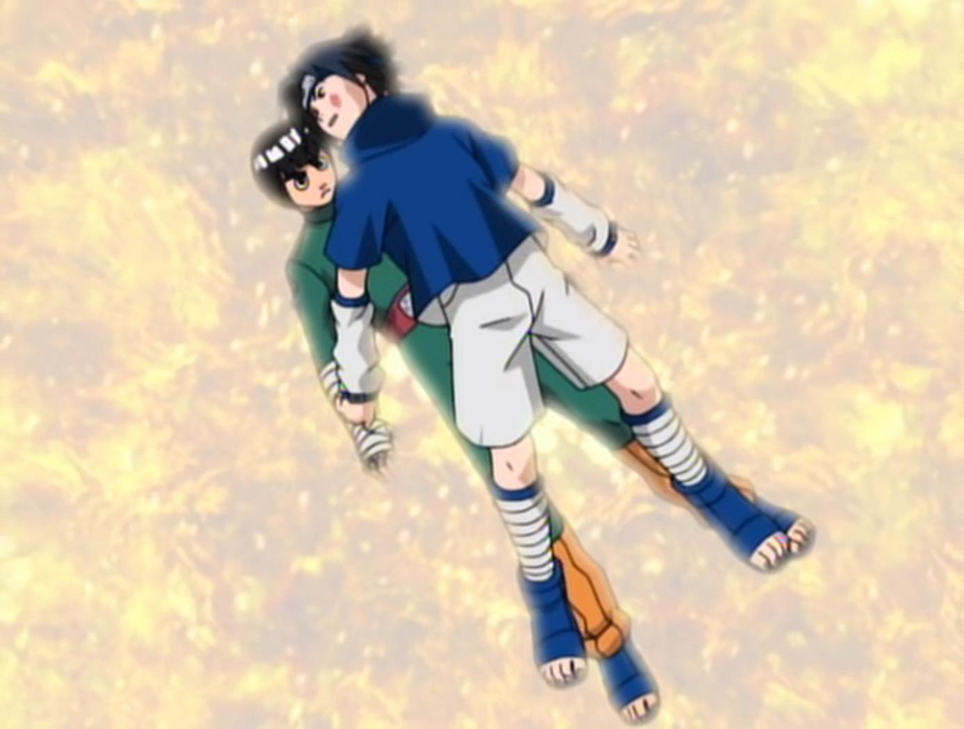 Chūnin Challenge: Rock Lee vs  Sasuke!   Narutopedia   FANDOM
