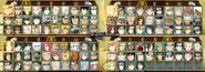 Naruto Storm Revolution selección de personajes