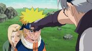 Naruto protects Tsunade