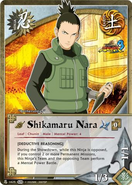 Carta Naruto Storm 3 Shikamaru