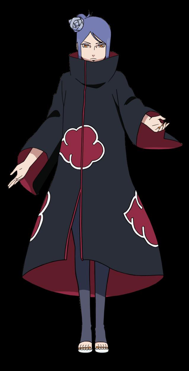 New Naruto Akatsuki Member Konan Cosplay Headband Head Protector