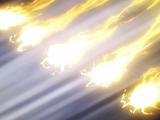 Técnica Secreta Improvisada: Jutsu Shuriken de Esfera Relámpago