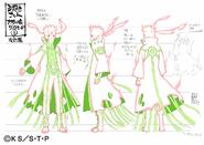Arte Pierrot - Naruto (Kurama Modo)