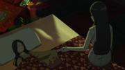 Hinata stays by Hanabi's side