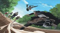 Meizu e Gōzu atacando juntos