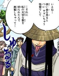 Mudança de Voz (Orochimaru-Mangá)