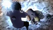 Sasuke prestes a matar Naruto (Anime)