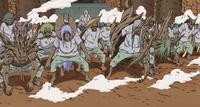 Varios prisioneros en el Nivel Dos del Sello Maldito