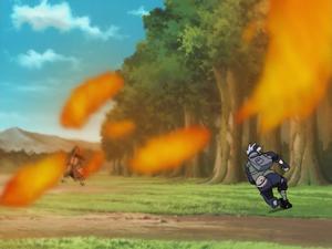 Elemento Fuego Jutsu Llamas del Sabio Fénix Anime